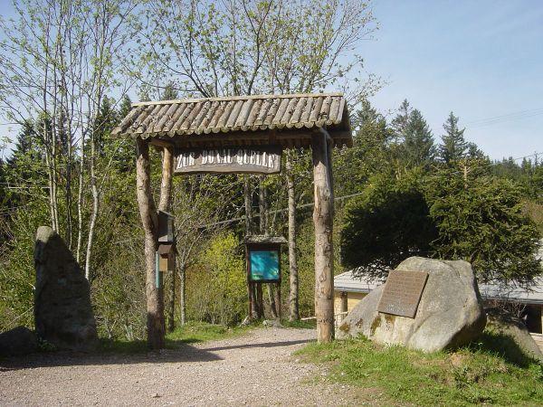 Das Tor zur Donauquelle