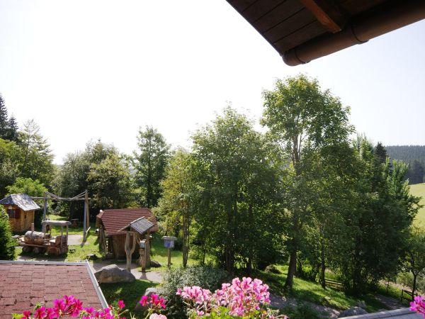 Toller Schwarzwald-Ausblick vom Balkon