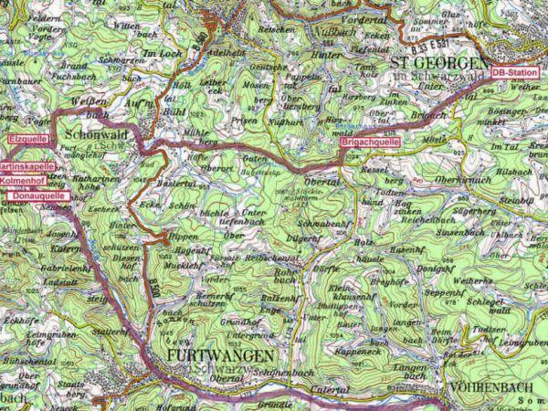 Kolmenhof Donauradweg Etappe 01