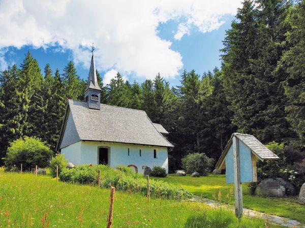 Kolmenhof Teaser Martinskapelle+donauquelle