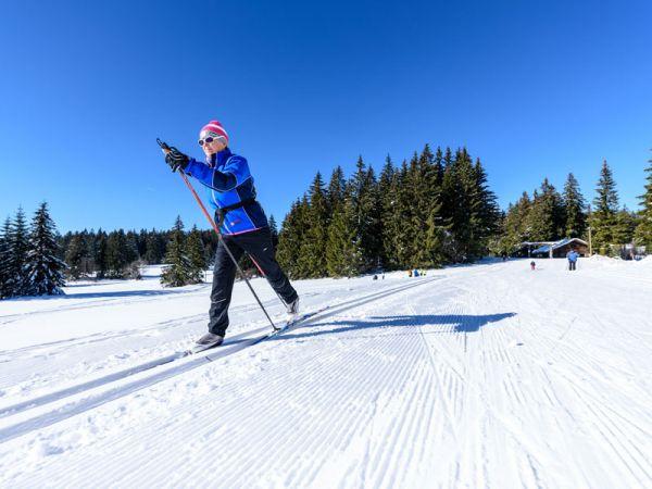 Skilangläufer erobern die Loipen