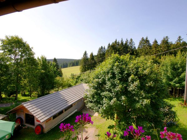 Tolle Aussicht vom Balkon in den Schwarzwald
