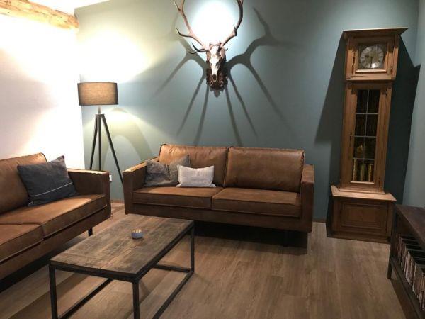 Unser Freizeitzimmer für die Hausgäste - cool und gemütlich gestaltet