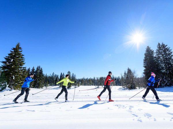Freitzeitaktivitäten für Gruppen im Winter