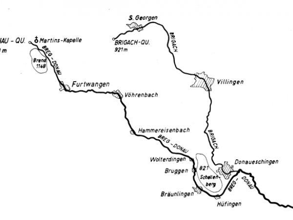 Kolmenhof Verlauf Donau