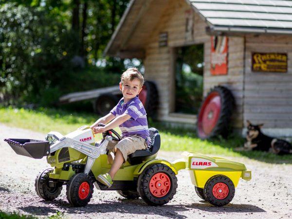 Kinder-Fahrzeuge und Spielsachen gibt es zum Ausleihen