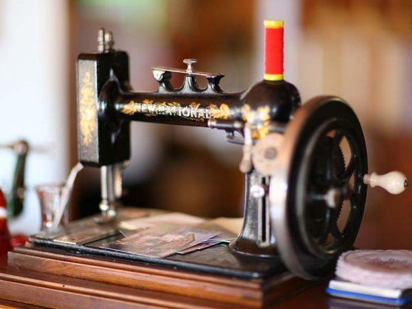 Nähmaschine aus alten Zeiten