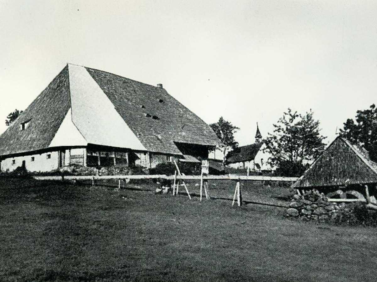 Kolmenhof-Bauernhof 1905