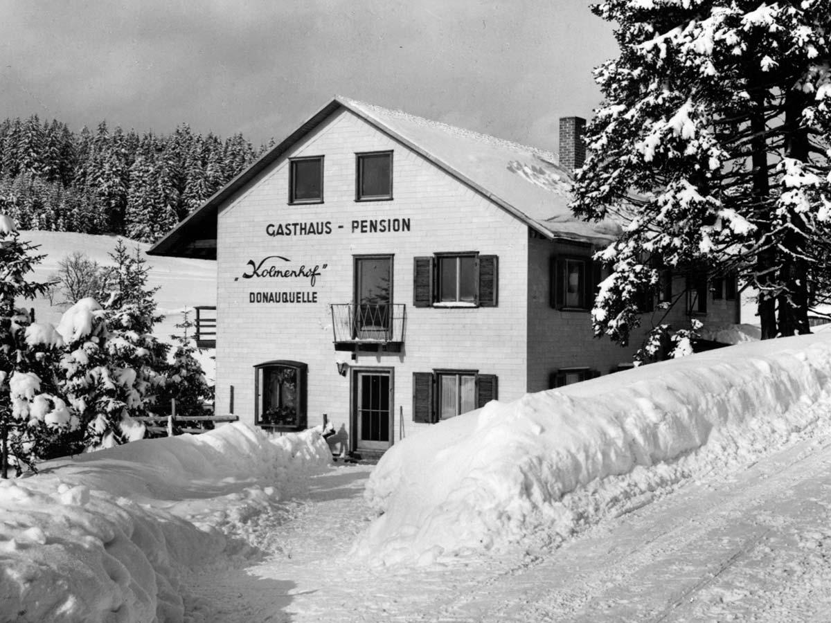 Der Winter im Jahr 1970 ist in Furtwangen eingebrochen!